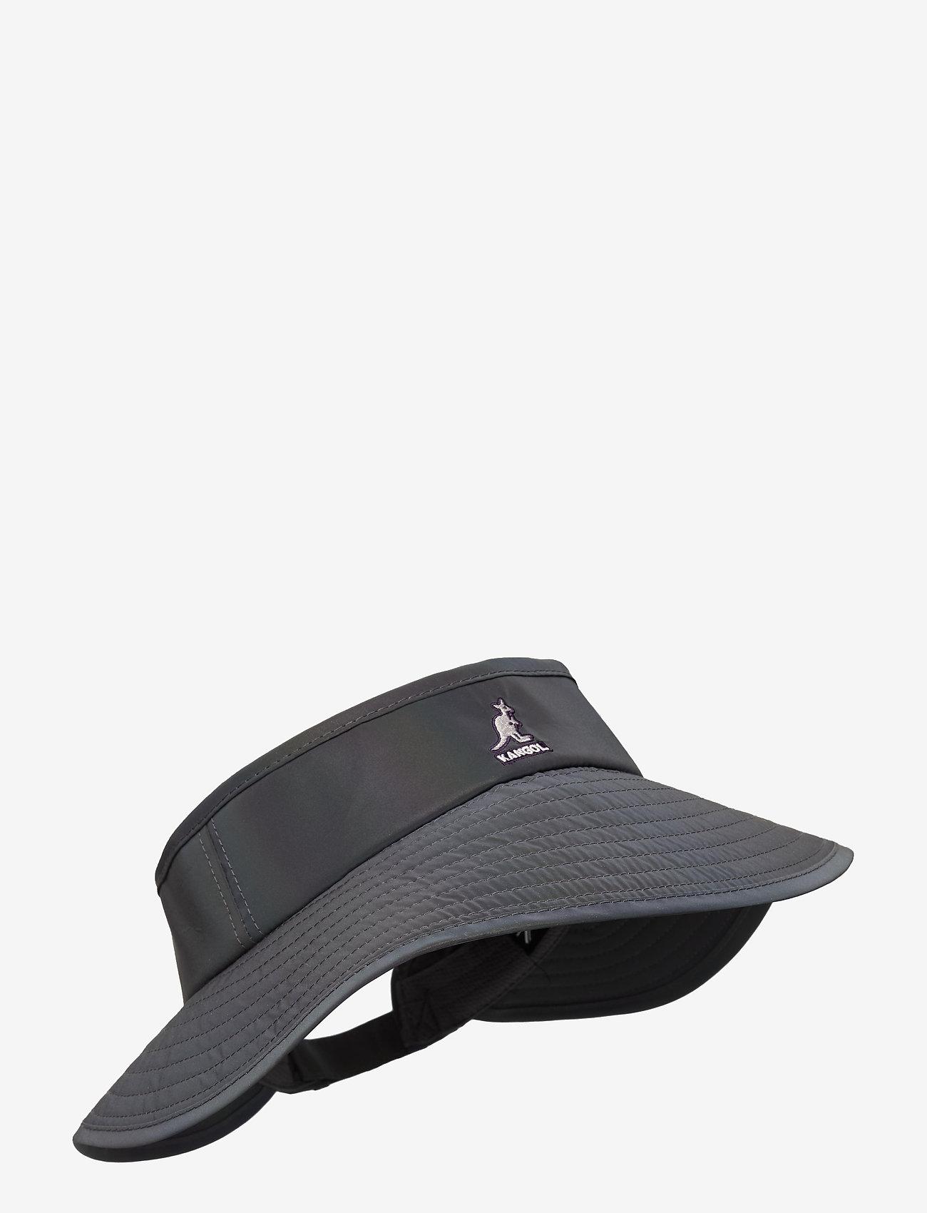 Kangol - KG IRIDESCENT VISOR - chapeaux - ink - 0