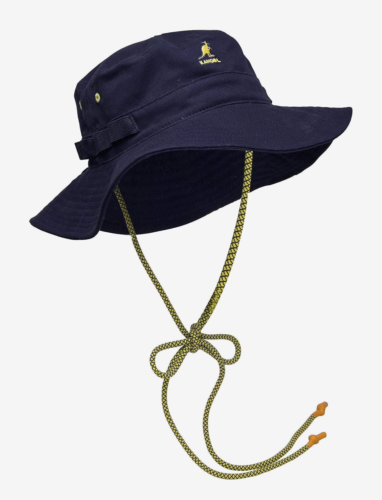 Kangol - KG UTILITY CORDS JUNGLE HAT - navy - 0
