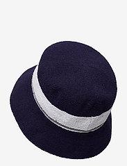 Kangol - KG BERMUDA STRIPE BUCKET - bucket hats - navy - 1