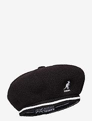 Kangol - KG 2-TONE BERMUDA JAX BERET - chapeaux - black - 0
