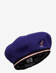 Kangol - KG 2-TONE BERMUDA JAX BERET - chapeaux - grape - 0