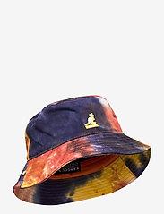 Kangol - TIE DYE BUCKET - bucket hats - golden palm - 0