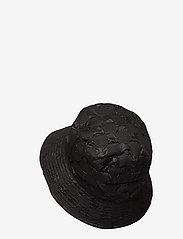 Kangol - KG PUCKER CHECK BUCKET - bucket hats - black - 1