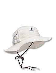 KG UTILITY CORDS JUNGLE HAT - OFF WHITE
