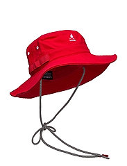 KG UTILITY CORDS JUNGLE HAT - RED