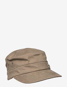 KG COTTON TWILL ARMY CAP - kasketter - green