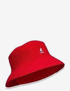 KG BERMUDA BUCKET - bucket hats - scarlet