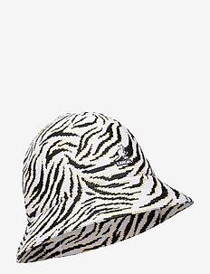 KG CARNIVAL CASUAL - chapeau de seau - white zebra