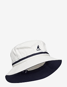 KG STRIPE LAHINCH - chapeau de seau - white