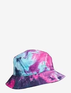 TIE DYE BUCKET - bucket hats - rainbow