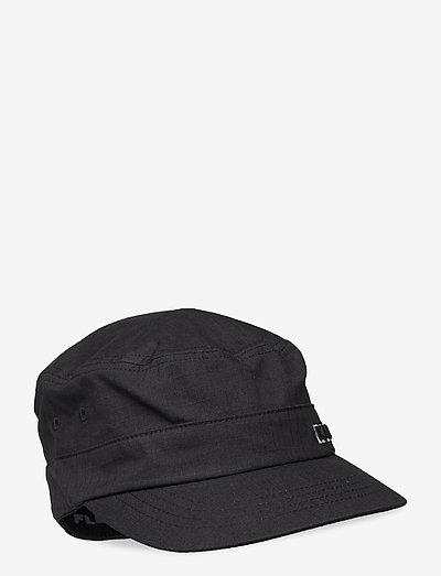 KG RIPSTOP ARMY CAP - kasketter - black