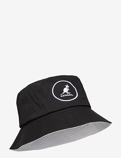 KG COTTON BUCKET - bucket hats - black