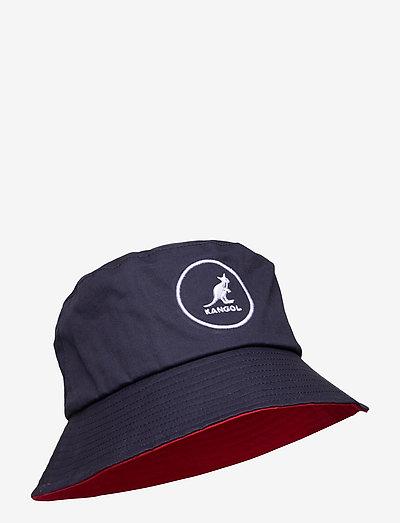 KG COTTON BUCKET - bucket hats - navy
