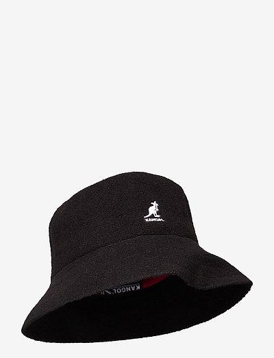 KG BERMUDA BUCKET - bucket hats - black