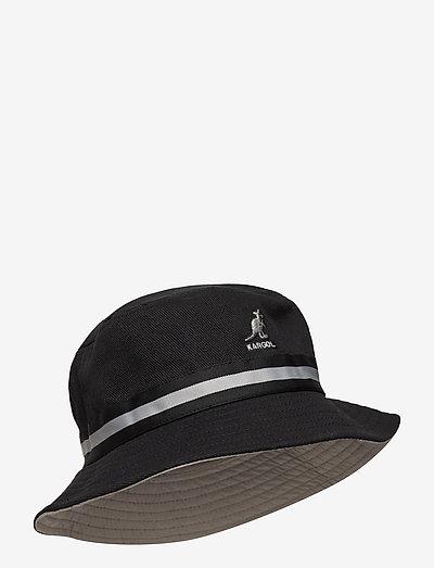 KG STRIPE LAHINCH - bøllehatte - black