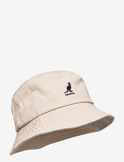 KG WASHED BUCKET - bucket hats - khaki