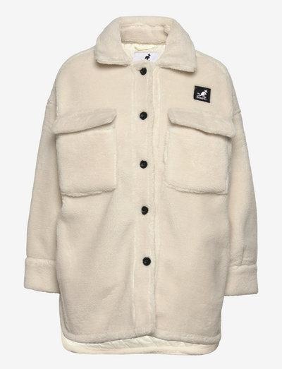 KG LAMBETH JACKET - overshirts - off white