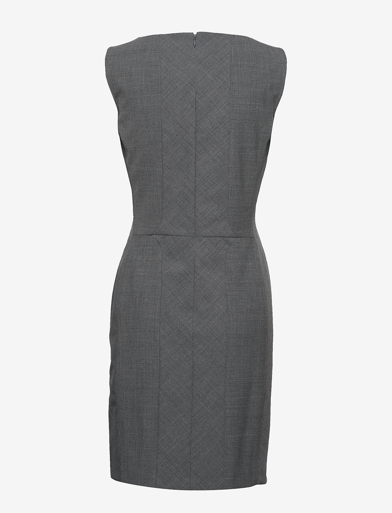 Karen By Simonsen - SydneyKB Suit Dress - fodralklänningar - grey melange - 1