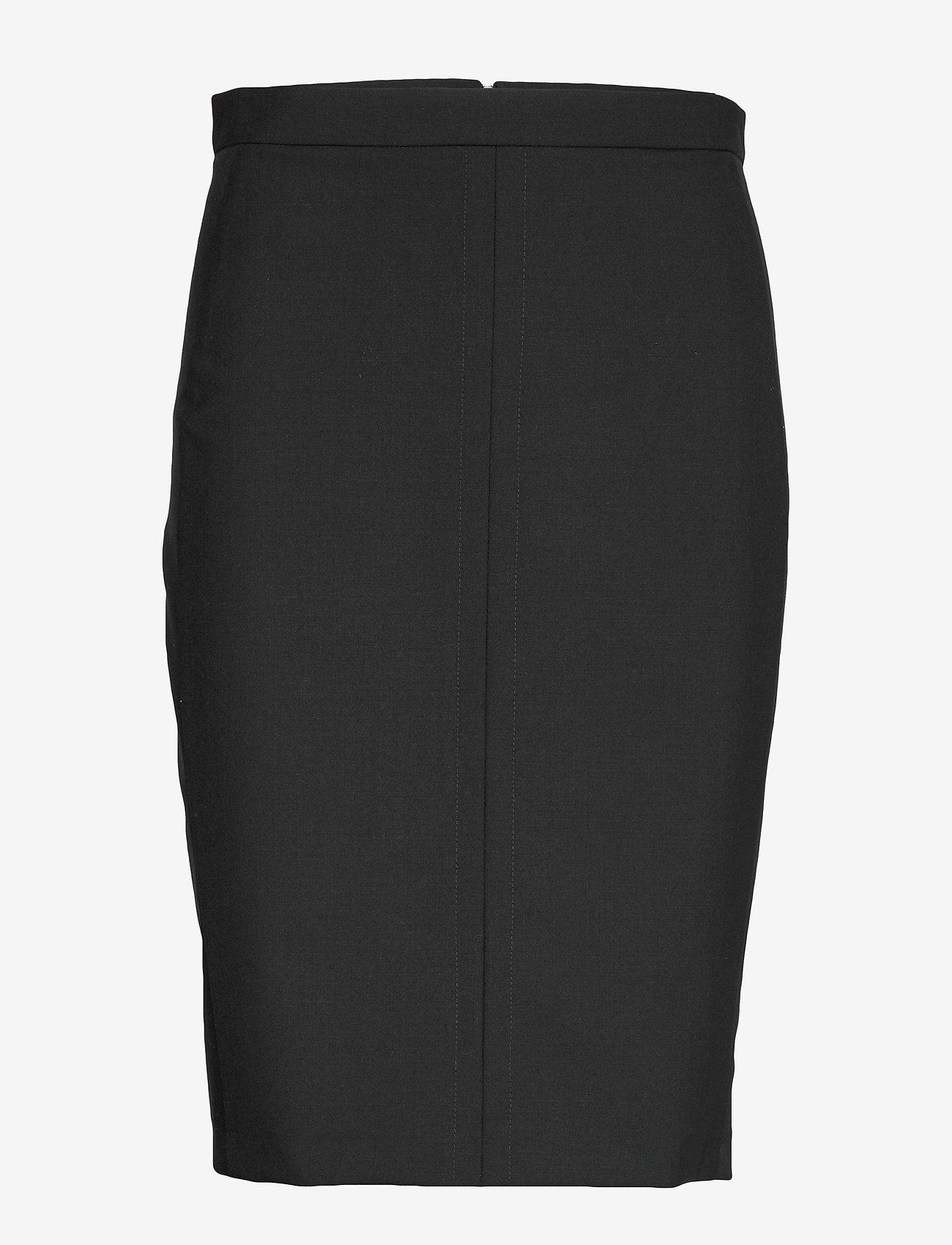 Karen By Simonsen - SydneyKB Pencil Skirt - midi kjolar - black - 1