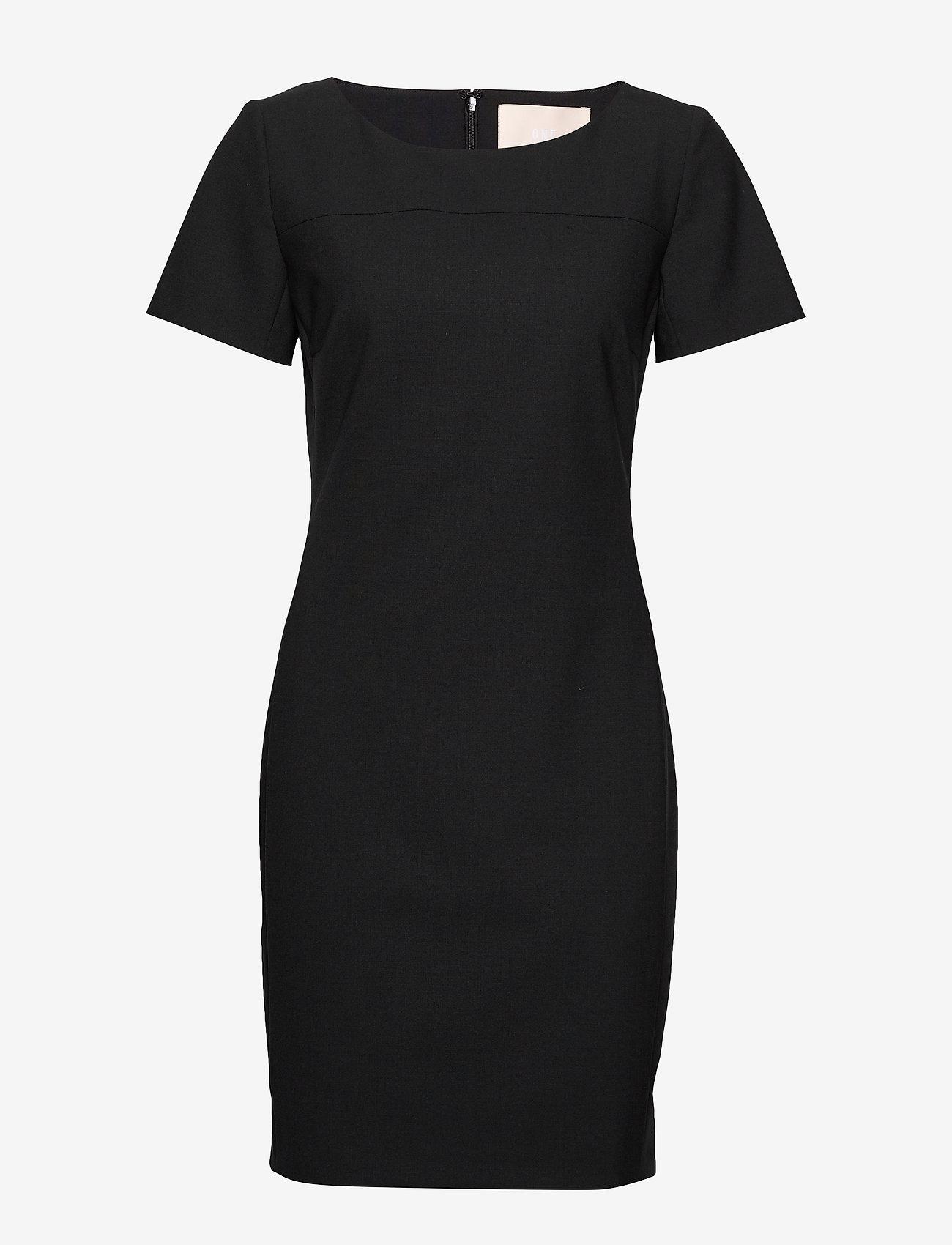 Karen By Simonsen - SydneyKB SS Dress - fodralklänningar - black - 0