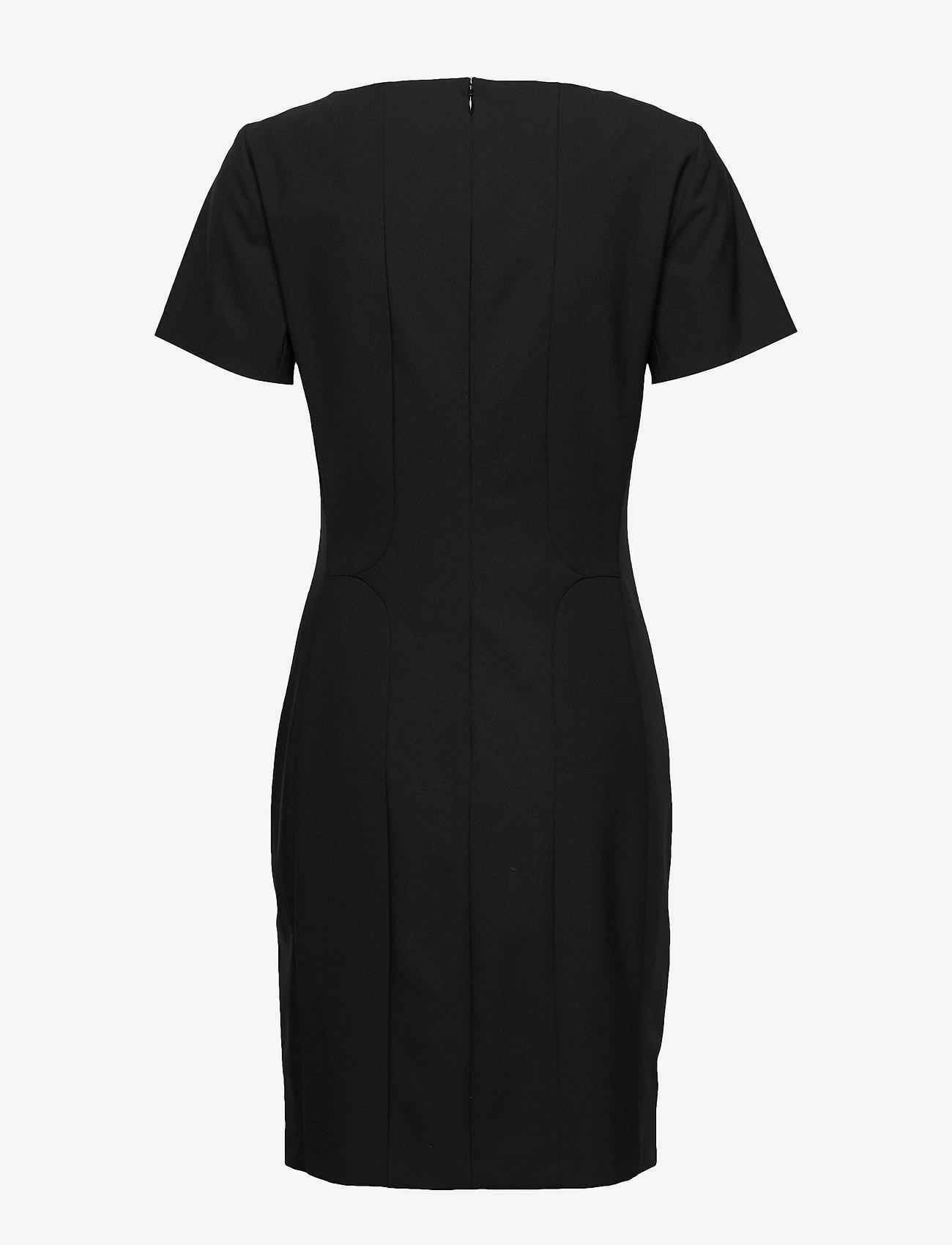 Karen By Simonsen - SydneyKB SS Dress - fodralklänningar - black - 1