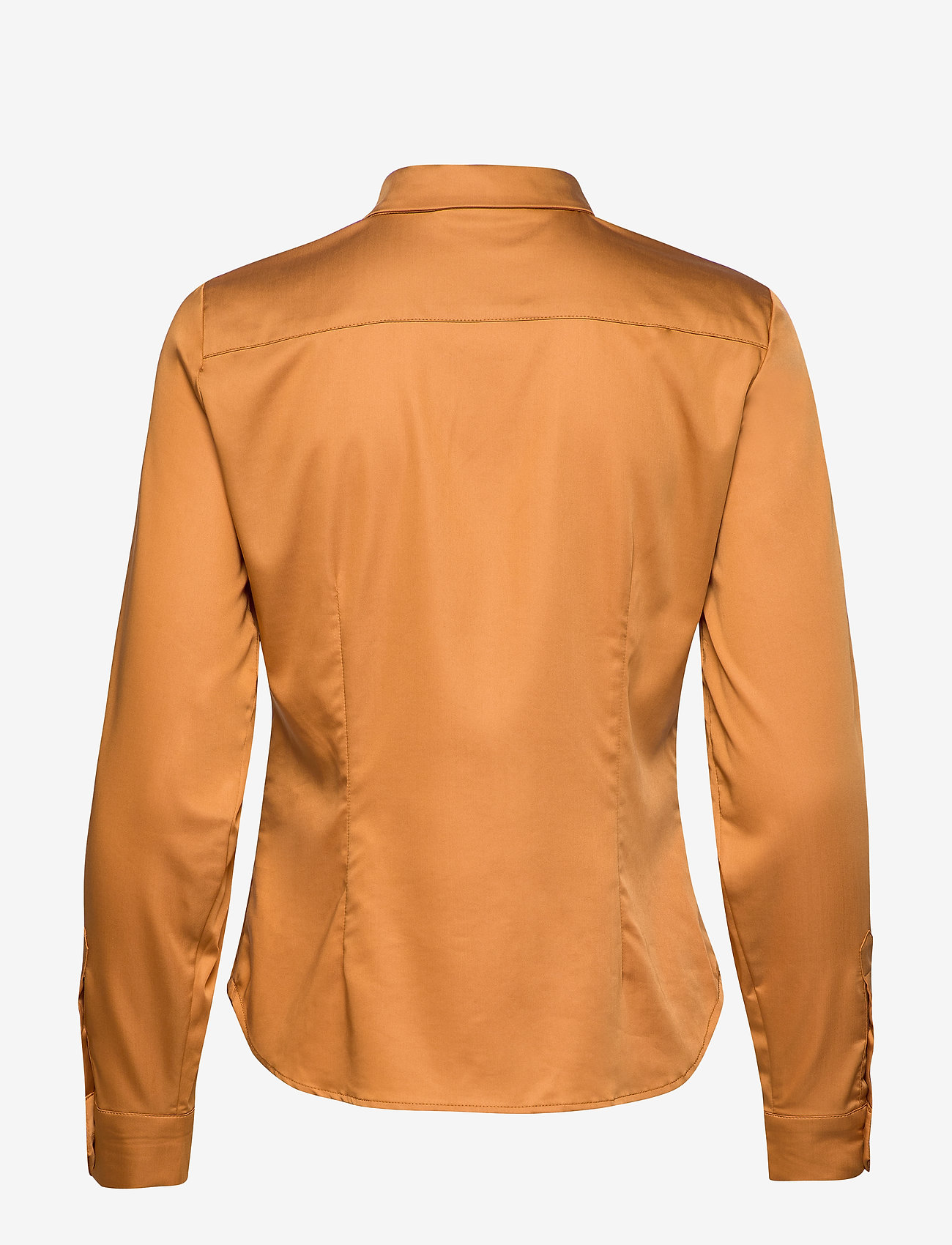Karen By Simonsen - BinaKB Fitted Shirt - chemises à manches longues - brown sugar - 1