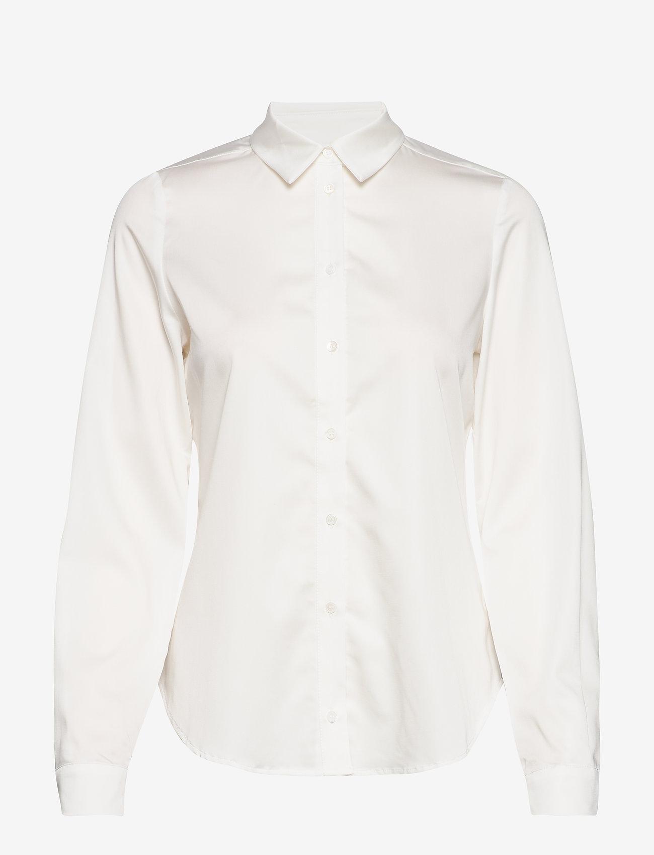 Karen By Simonsen - BinaKB Fitted Shirt - chemises à manches longues - egret - 0
