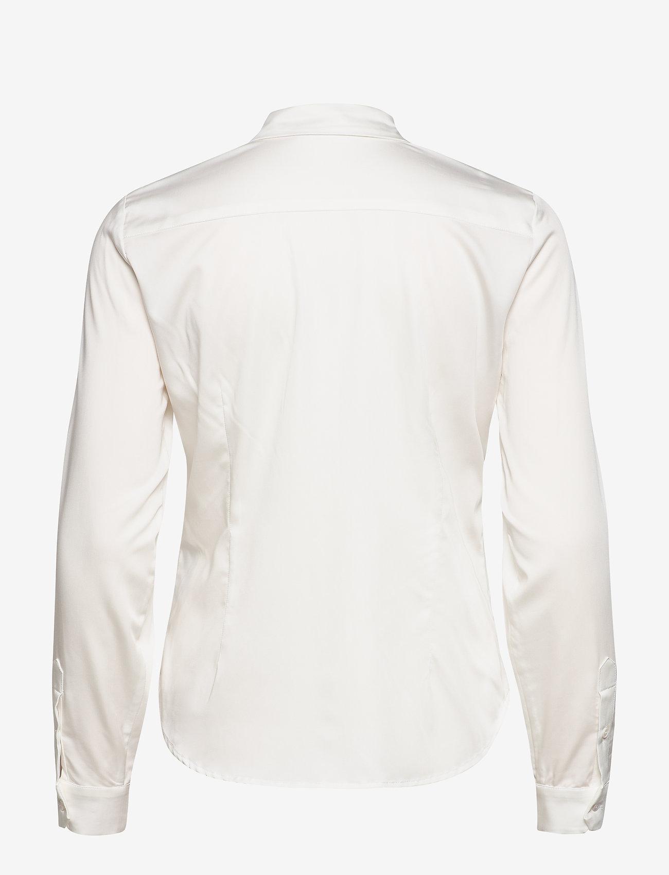 Karen By Simonsen - BinaKB Fitted Shirt - chemises à manches longues - egret - 1