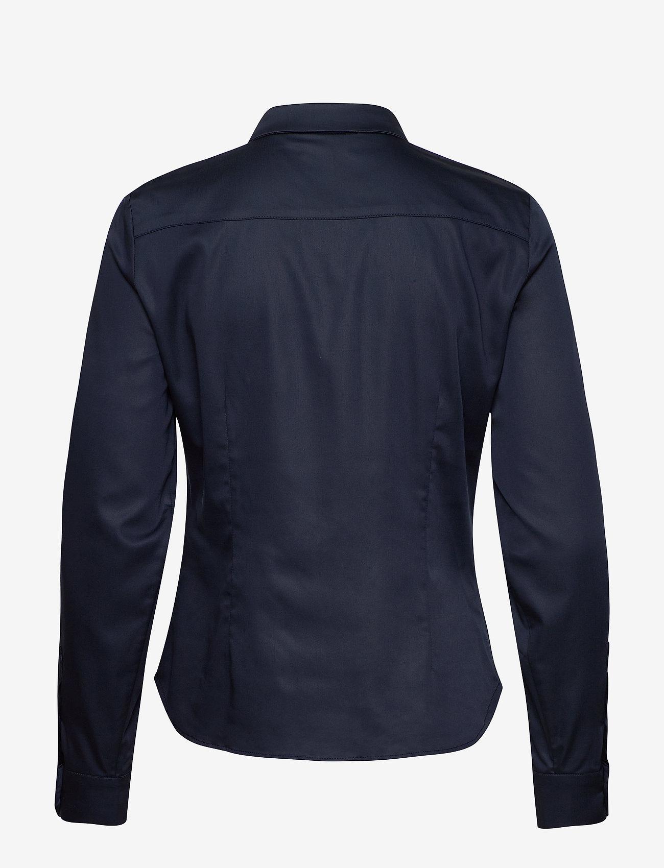 Karen By Simonsen - BinaKB Fitted Shirt - chemises à manches longues - night sky - 1