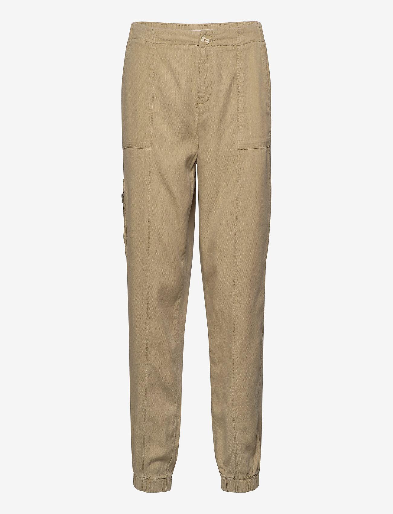 Karen By Simonsen - BrodyKB Pants - casual bukser - sponge - 0