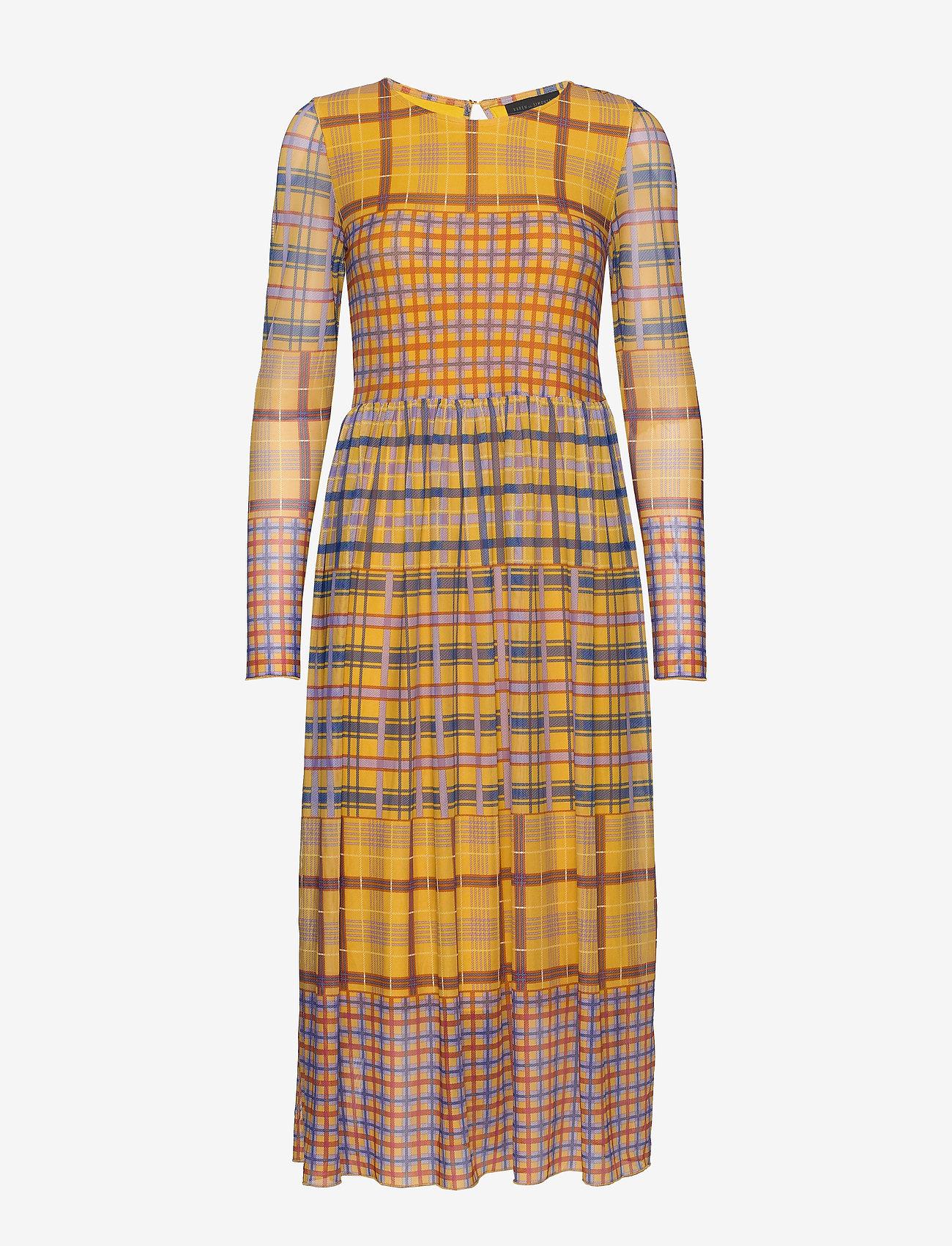 Peonykb Dress (Yellow Check) - Karen By Simonsen nNXva5