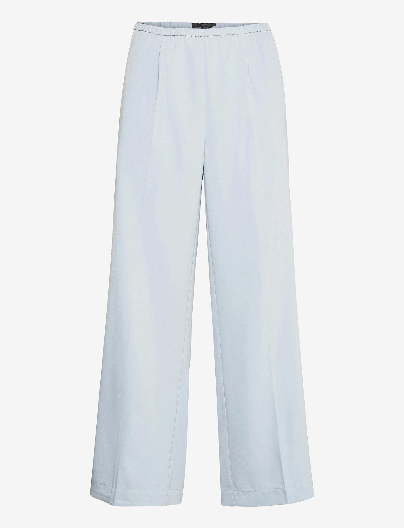 Karen By Simonsen - CalesiKB Wide Pants - bukser med brede ben - celestial blue - 1