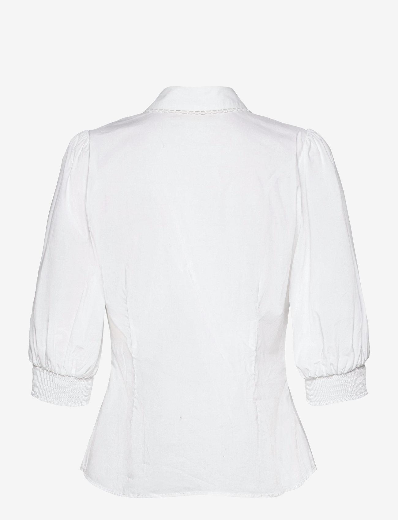 Karen By Simonsen - ChillyKB Blouse - chemises à manches longues - bright white - 1