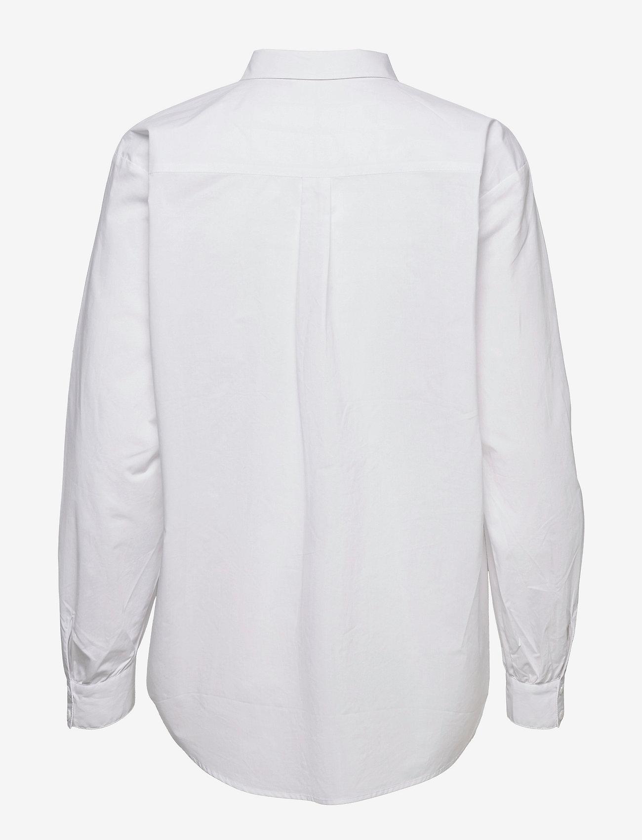 Karen By Simonsen - NinjaKB Shirt - denimskjorter - bright white - 2