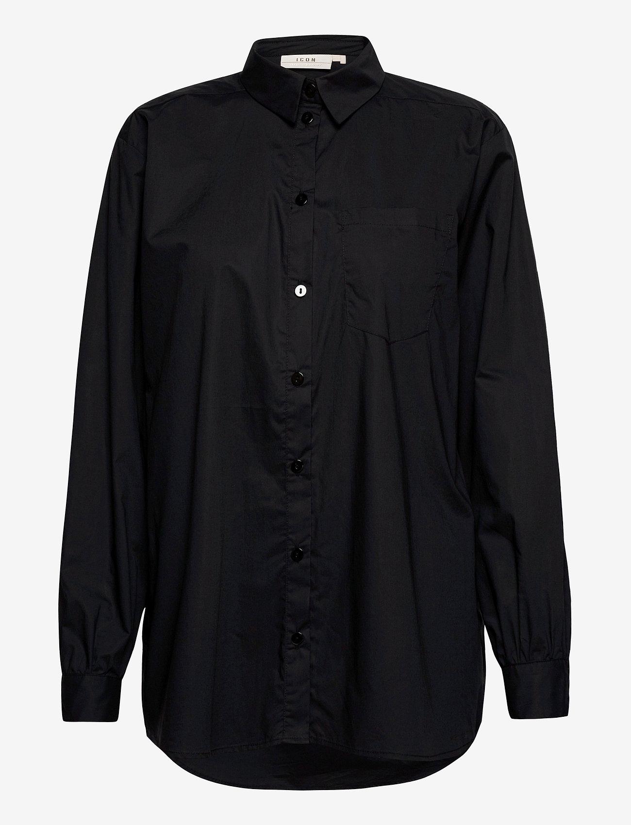 Karen By Simonsen - NinjaKB Shirt - denimskjorter - meteorite - 1