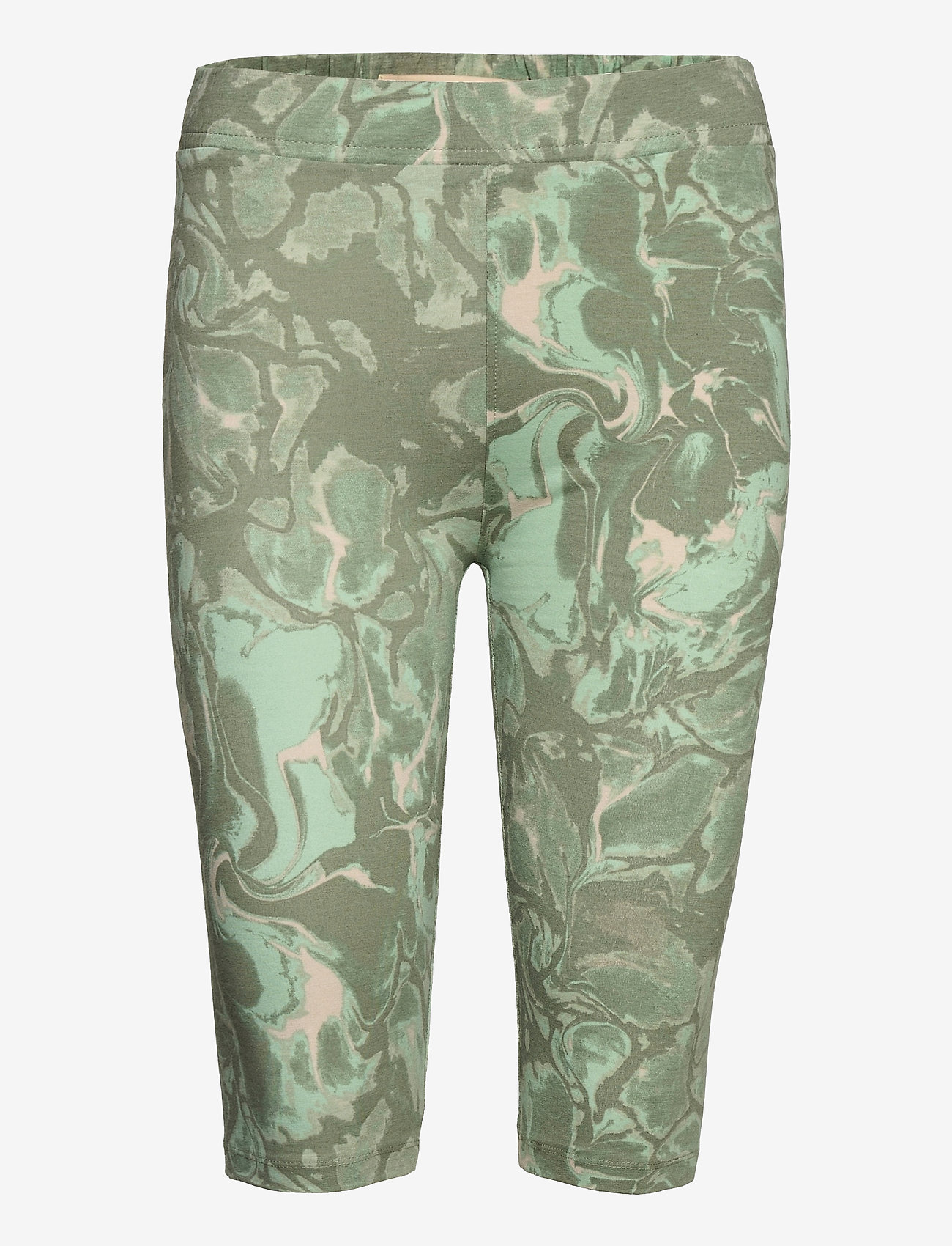 Karen By Simonsen - GumiKB Printed Shorts - cykelshorts - seagrass glaze - 0