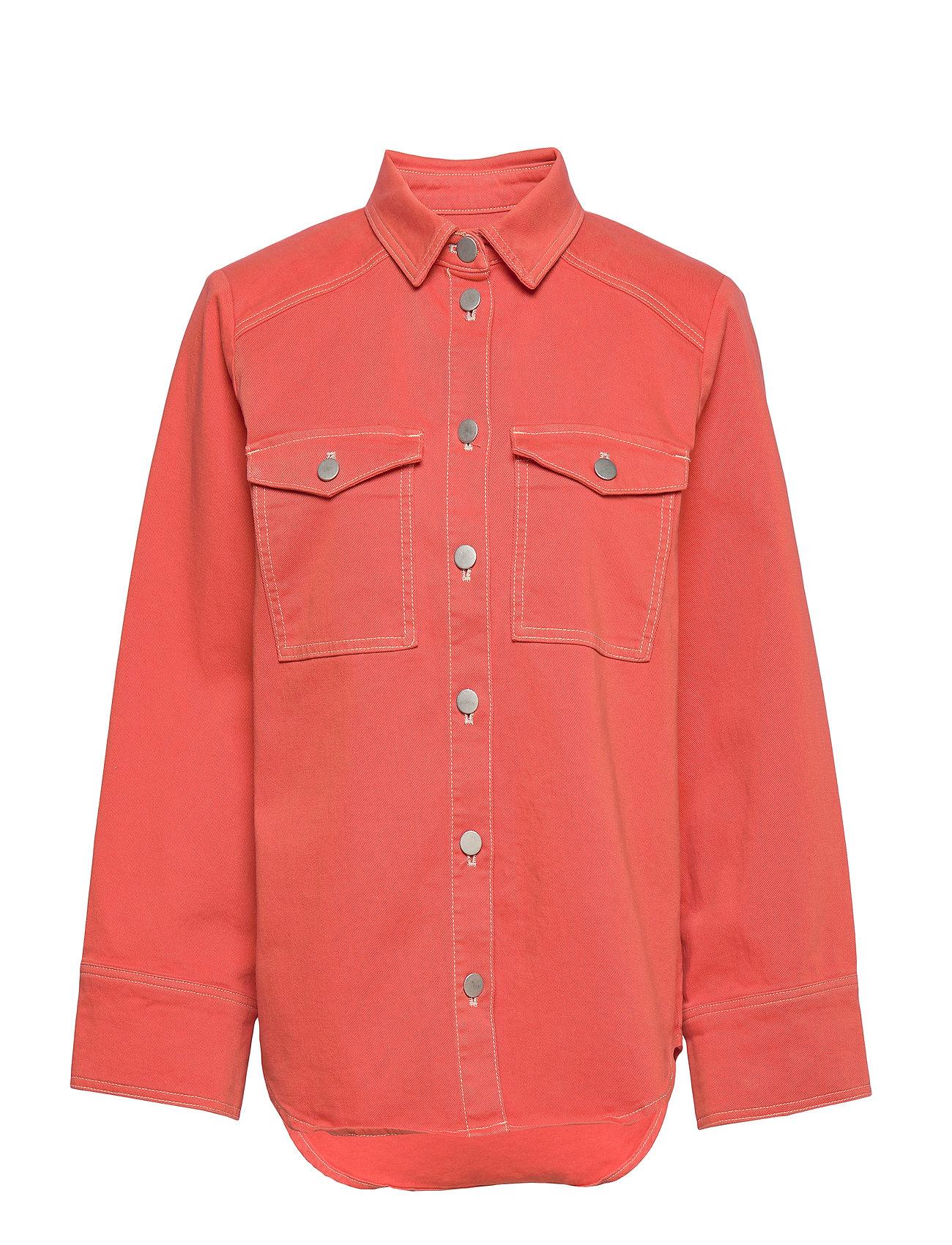 Karen By Simonsen ReeseKB Jeans Shirt - CHILI
