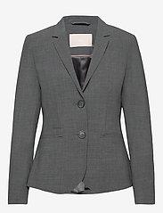 Karen By Simonsen - SydneyKB Blazer - matchande set - grey melange - 0