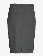 Karen By Simonsen - SydneyKB Pencil Skirt - midi kjolar - grey melange - 2