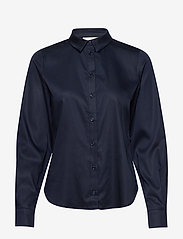 Karen By Simonsen - BinaKB Fitted Shirt - chemises à manches longues - night sky - 0