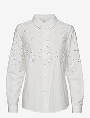 Karen By Simonsen - BustineKB Shirt - chemises à manches longues - egret - 0