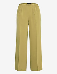 CalesiKB Wide Pants - GREEN MOSS