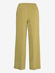 Karen By Simonsen - CalesiKB Wide Pants - bukser med brede ben - green moss - 1