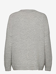 Karen By Simonsen - NoraKB Knit Cardigan - cardigans - frost gray melange - 2
