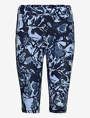 Karen By Simonsen - GumiKB Printed Shorts - cykelshorts - black iris glaze - 0