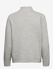 Karen By Simonsen - NoraKB Turtleneck Cardigan - cardigans - frost gray melange - 2