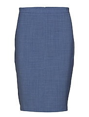 Sydney Pencil Skirt - SKY BLUE
