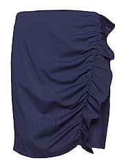 Tab Skirt - STRIPET FABRIC