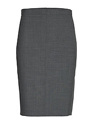 SydneyKB Pencil Skirt - GREY MELANGE
