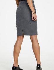 Karen By Simonsen - SydneyKB Pencil Skirt - midi kjolar - grey melange - 5